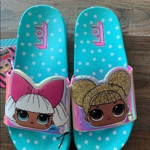 Other - New Girls sz 3/4 LOL Surprise Slides